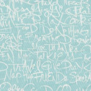 Color Full Graffiti in Aqua