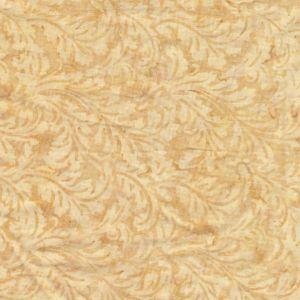 Dog Park Leaf Scrolls in Latte