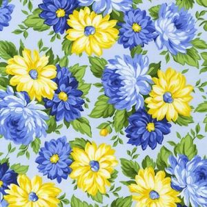 Flowerhouse Sunshine Flowers Bunches in Blues