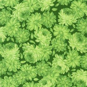 Flowerhouse Sunshine Tonal Flowers in Greens