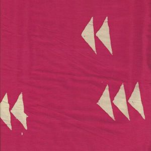 Handcrafted Geese in Magenta