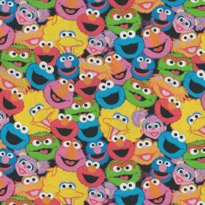 Sesame Street Packed Sesame Street in Black