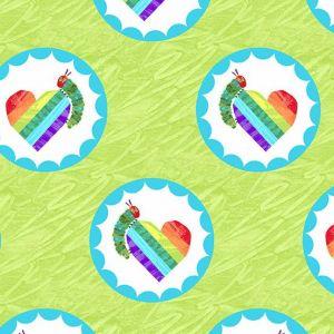The Very Hungry Caterpillar-Bright Green Hearts,Caterpillars