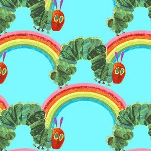 The Very Hungry Caterpillar-Bright Teal Rainbows,Caterpillars