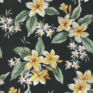 Tropicals Floral in Black
