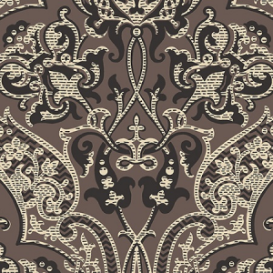 Women's Collection The Dowager's Damask in the color Khaki