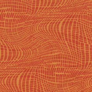 African Surf Net Print in Orange