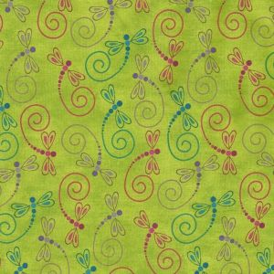 Calypso Dragonfly Toss in Green