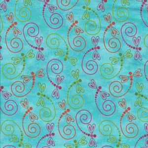 Calypso Dragonfly Toss in Turquoise