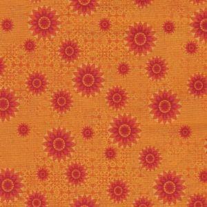 Calypso Tossed Starburst in Orange