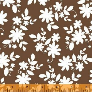 Ciao Bella Brown Tossed Floral