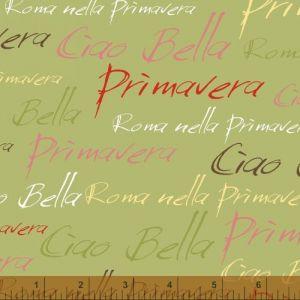 Ciao Bella Green Italian Phrases