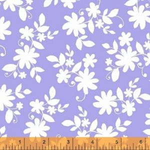 Ciao Bella Purple Tossed Floral