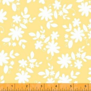 Ciao Bella Yellow Tossed Floral