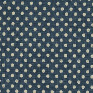 Indigo Nature Ivory Dots on Navy