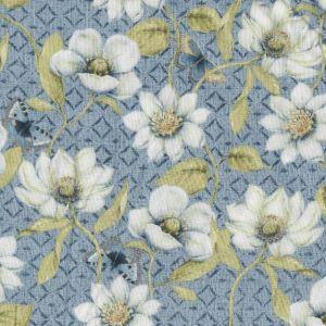Indigo Nature Magnolia Diamonds in Blue