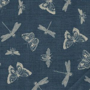 Indigo Nature Summer Insects in Navy
