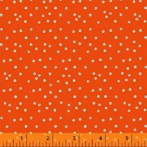 Swim Team Orange Tiny Circles