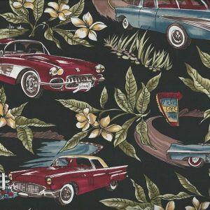 Tropicals Classic Cars in Black