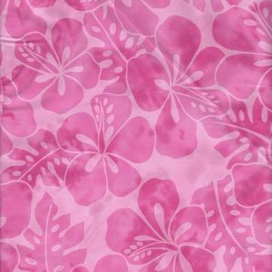 Tropicals Large Floral in Pink