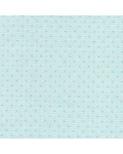 Cotton Tale Pin Dots in Light Blue