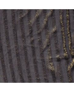 Haney Horizontal Stripes Mesh in Navy