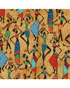 Kenya African Beauties in Browns