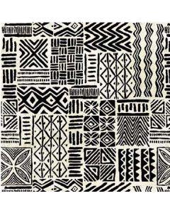 Kenya African Geometric in Black