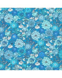 London Calling Blue Jay Lawn Floral