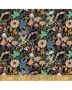 Paradiso Knit Flower Bed in Black