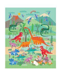 Rainbow Dino Panel