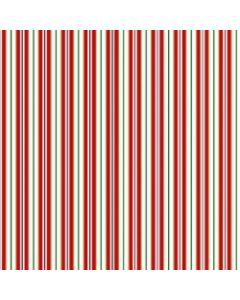 Vintage Holiday Red Stripes