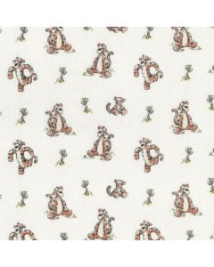 Winnie The Pooh Classic Bouncy Tigger in White