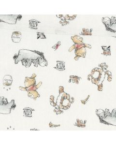 Winnie The Pooh Classic Pooh Bear  Friends in White