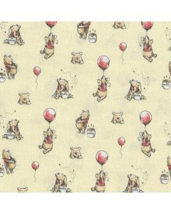 Winnie The Pooh Classic Pooh with Balloons in Chamomile