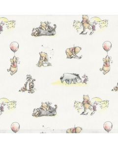 Winnie The Pooh Classic Storytime Friends in White