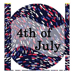 4th of July Fabrics