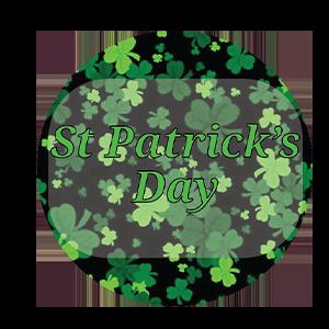 St Patricks Day Fabric